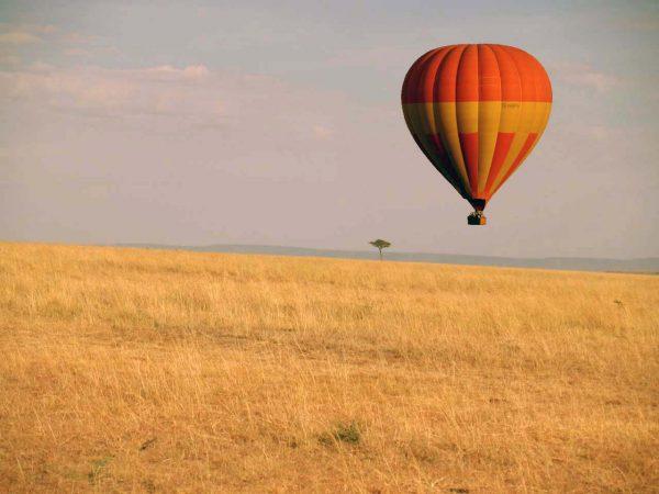 Masai Mara'da balon