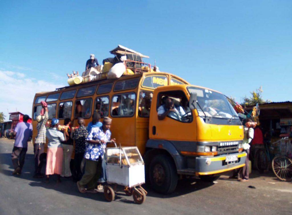 Kenya yollarında