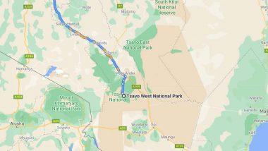 Nairobi-Tsavo yol